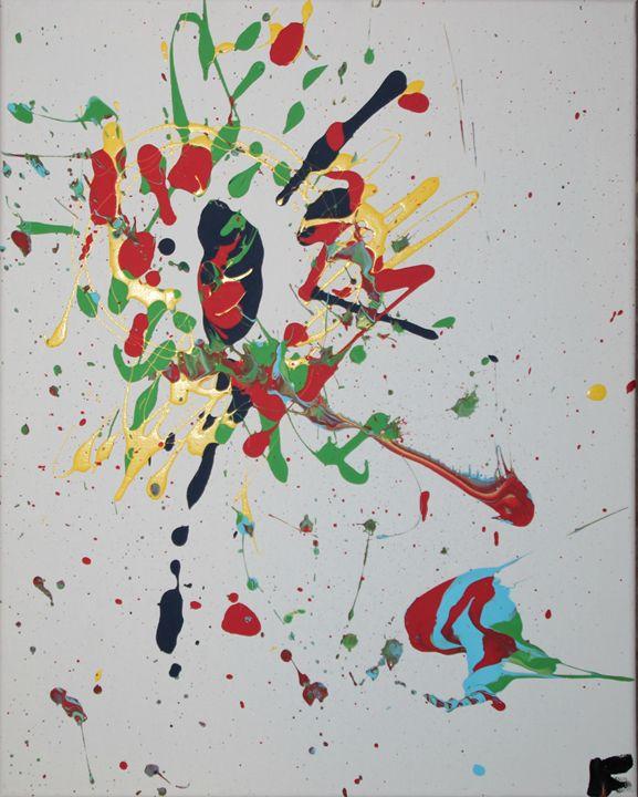Obscurity - Splatter Art from Branden Fisher