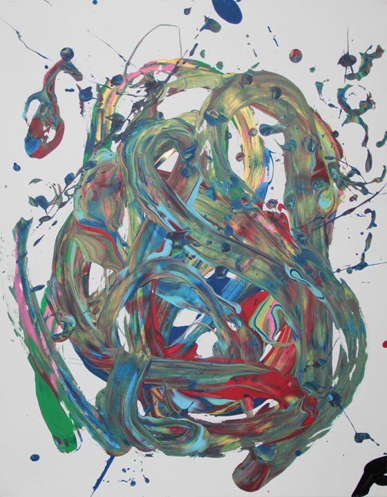 Smudge - Splatter Art from Branden Fisher