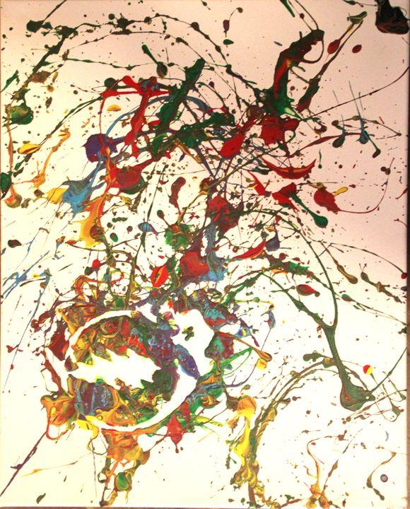 Steal Your Splatter #2 - Splatter Art from Branden Fisher