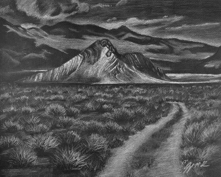 Death Valley Striped Butte - Jennifer M. Gerke