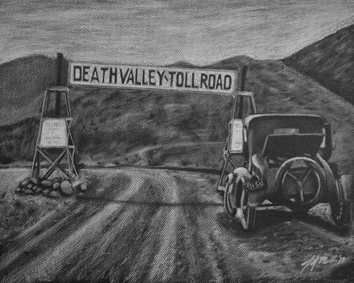 Death Valley Toll Road - Jennifer M. Gerke