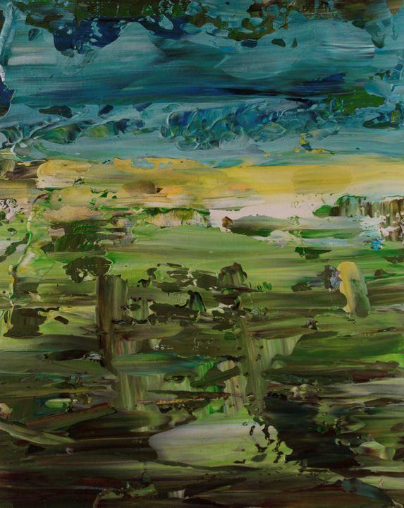 Abstract sunrise 5 - George Daniel Tudorache