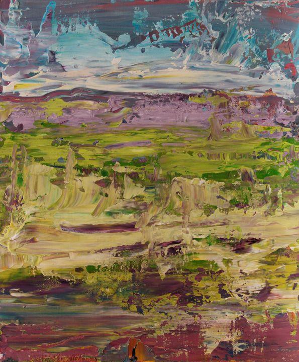Abstract sunrise 6 - George Daniel Tudorache