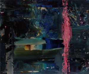 Abstract nightscape