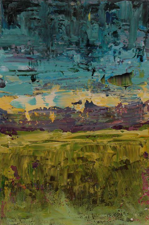 Abstract sunrise 1 - George Daniel Tudorache