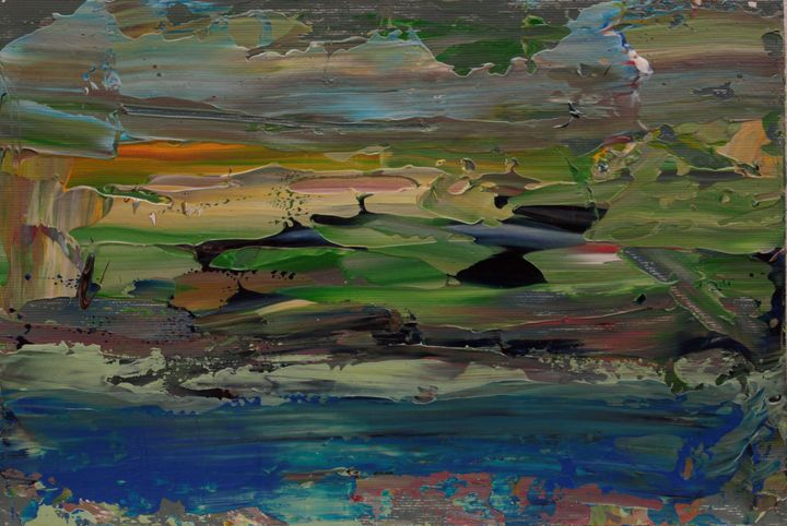 Abstract Sunrise 2 - George Daniel Tudorache