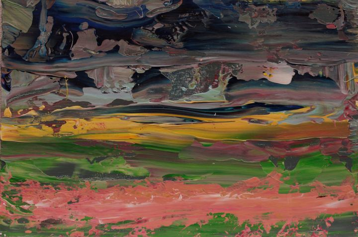Abstract sunrise 3 - George Daniel Tudorache