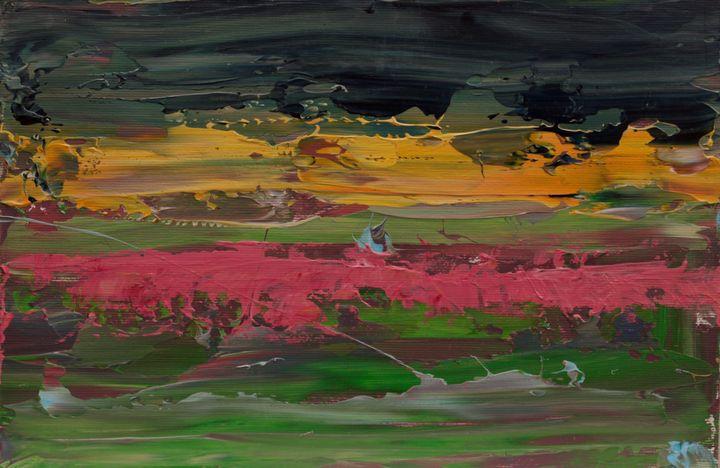 Abstract sunrise 4 - George Daniel Tudorache