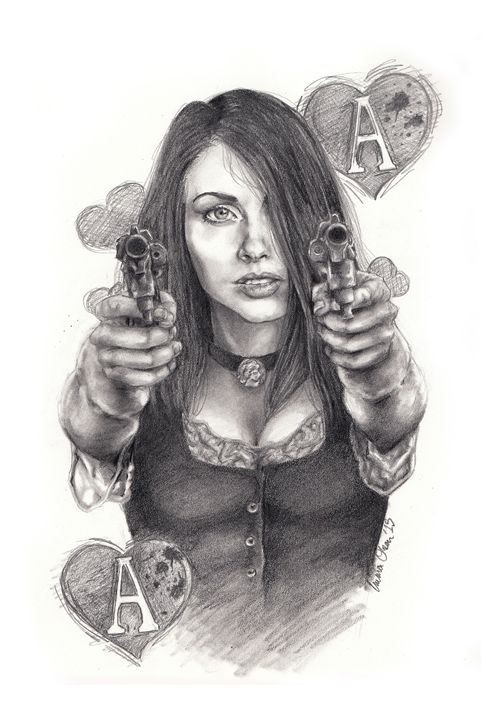 Ace of Hearts - Emma Olsen's Art