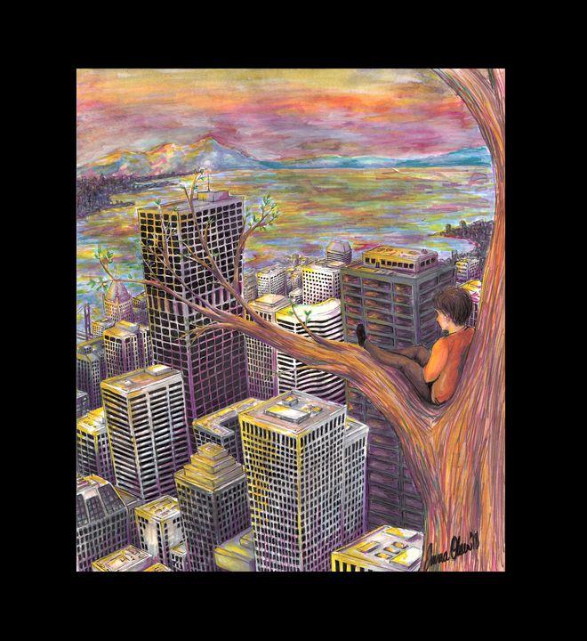 Natural Skyscraper - Emma Olsen's Art