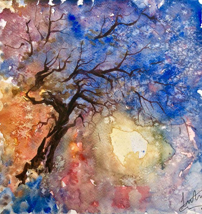 Tree in solitude - I-Man