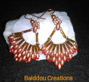 Copper Delight Earrings