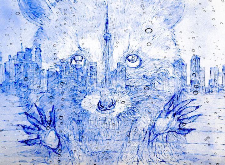 Toronto will be mine ... - Gerard Dourado's Watercolours and Sketches