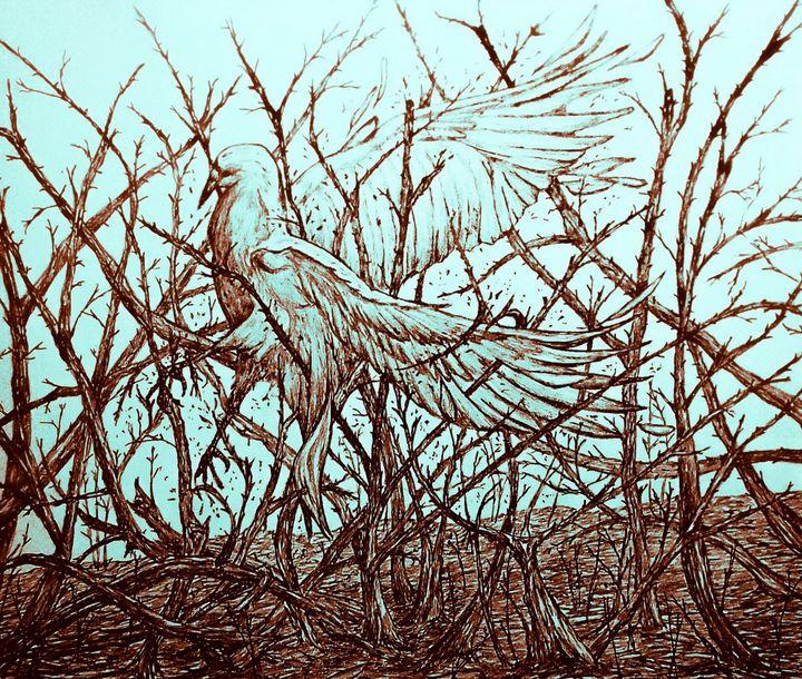 Breaking Free - Gerard Dourado's Watercolours and Sketches