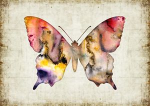 Watercolor print - Butterfly