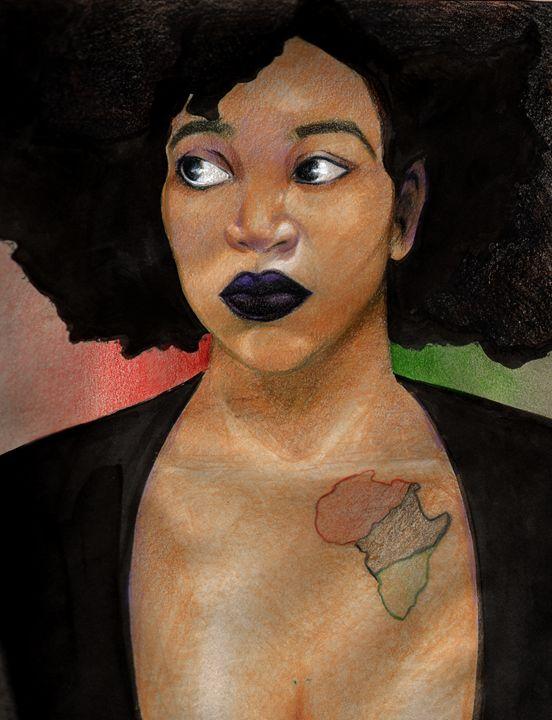 Youth In Culture - Art of Kamau Mshale