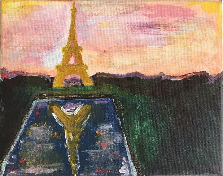 Sunset in Paris - Shania