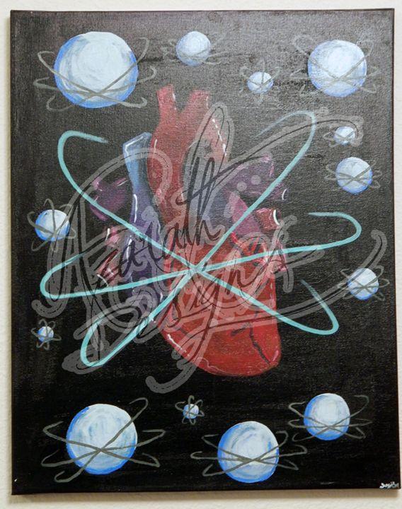 What revolves around us - Azarath Designs-The art of Justin Terrell