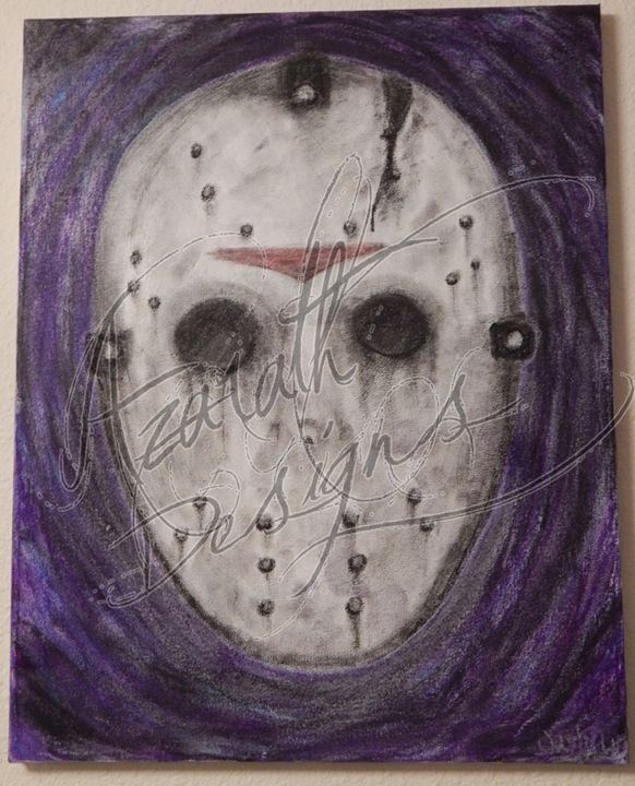 Lake Side Killer - Azarath Designs-The art of Justin Terrell