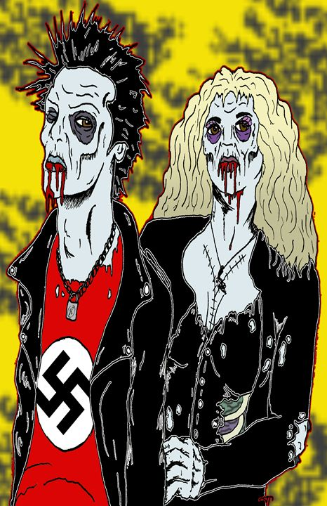 Sid and Nancy - Azarath Designs-The art of Justin Terrell
