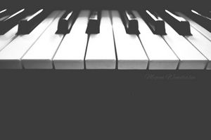 Piano Photography Print
