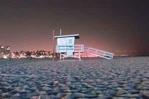 Beach NightScape Photo Print