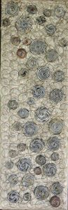 Champagne swirls (8 in x24 in) - CemeterySuitKase