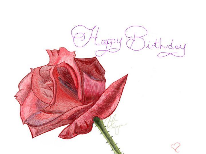Happy Birthday Rose - Dog Traynor