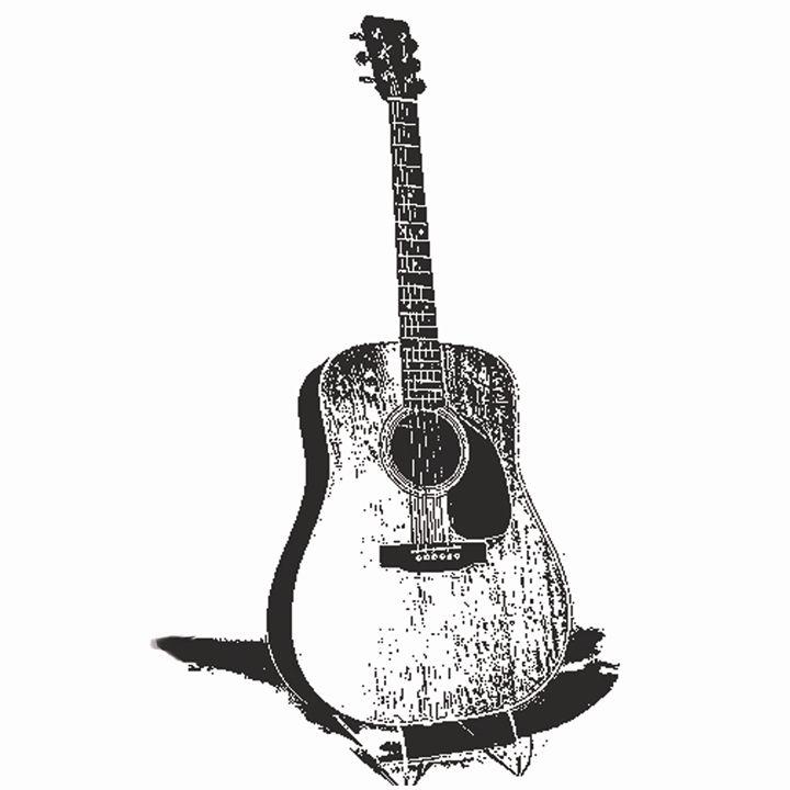 Old guitar - Dog Traynor