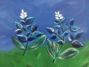Bluebonnets - A. Hawkins