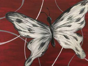 Dalmatian Butterfly