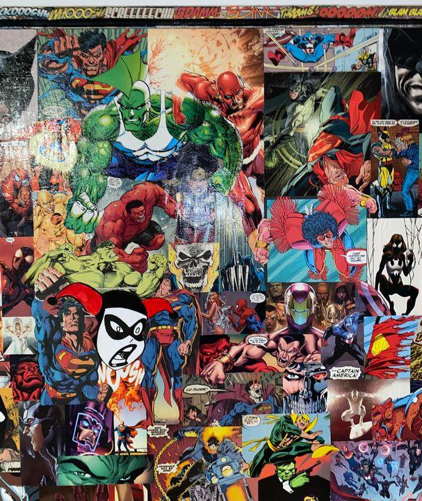 Hero or Villain (additional pic) - j_peerts