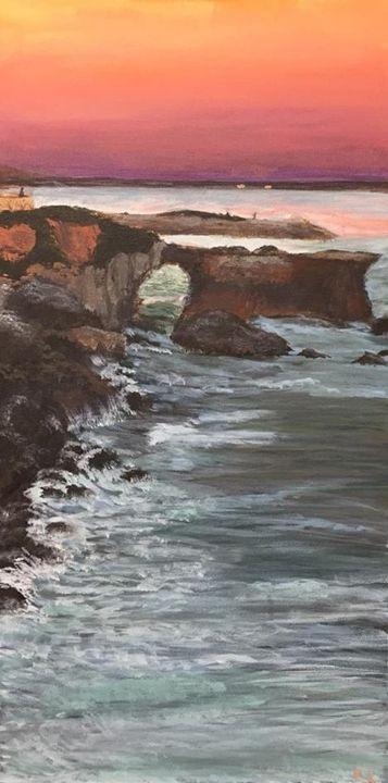 California Sunset - Lizzy's Art