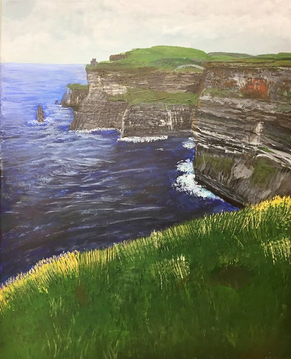 The Cliffs of Moher - Lizzy's Art