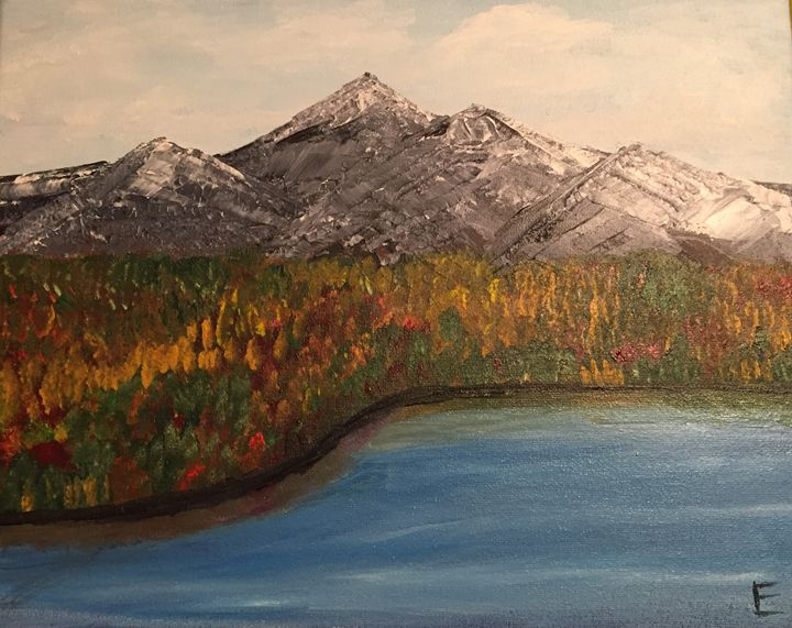 Fall in the Mountains - Lizzy's Art