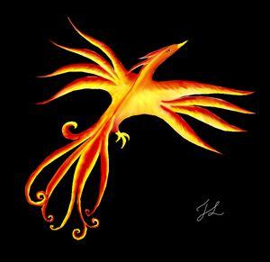 Phoenix Rising (Dark)