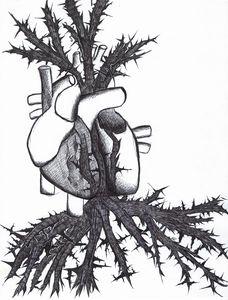 Heart in Brambles