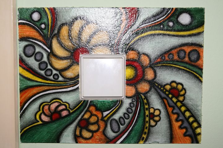 Light switch frame - Lastera