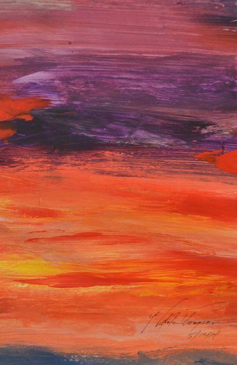 Sunset Sky - LOVE Art Wonders (NickysArt)