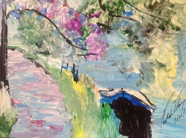 Beauty Lake - LOVE Art Wonders (NickysArt)