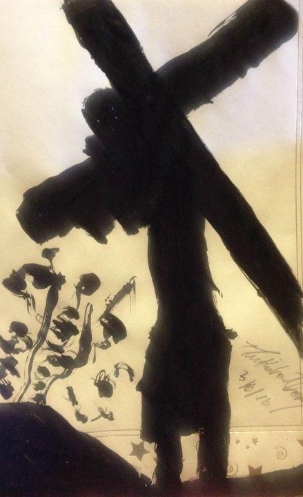 Carrying my Cross - LOVE Art Wonders (NickysArt)