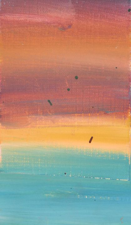 Sunset vision - LOVE Art Wonders (NickysArt)