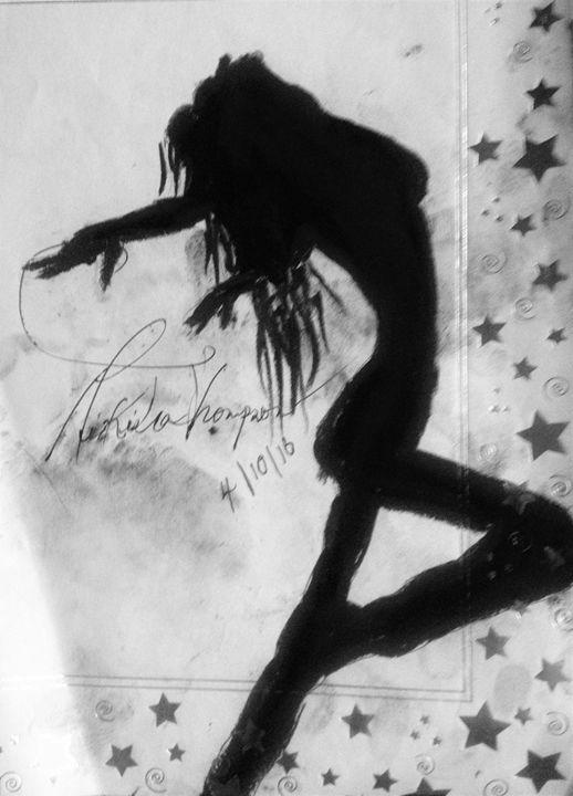 D.A.N.C.E ART Silhouette Beauty - LOVE Art Wonders (NickysArt)