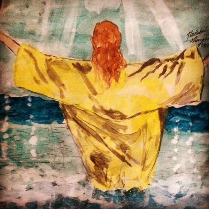 Jesus Baptisim - LOVE Art Wonders (NickysArt)