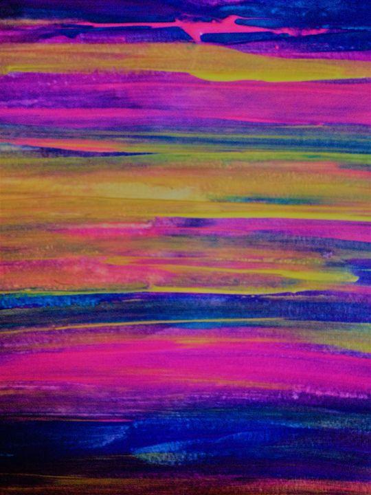 Sunset Wonder - LOVE Art Wonders (NickysArt)