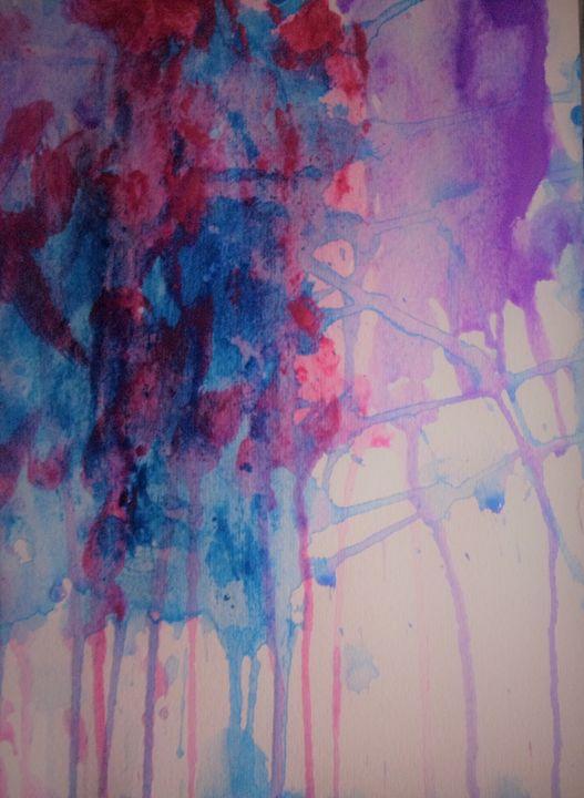 Watercolor Waterfall 1 - LOVE Art Wonders (NickysArt)