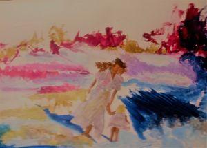 Mother&Daughter - LOVE Art Wonders (NickysArt)