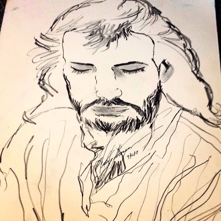 Jesus - LOVE Art Wonders (NickysArt)