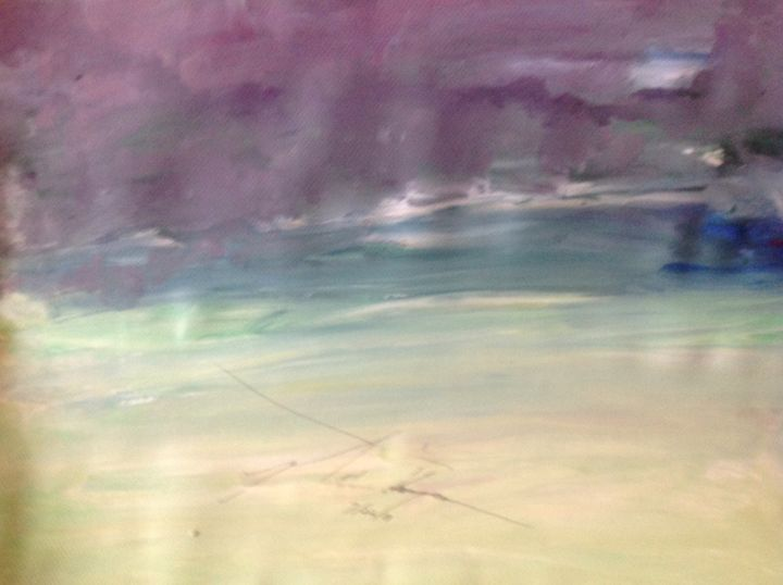 Purple Sky - LOVE Art Wonders (NickysArt)
