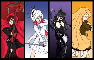 RWBY fanart_digital version